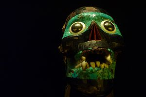The Skull of the Smoking Mirror, Cult Representation of Tezcatlipoca