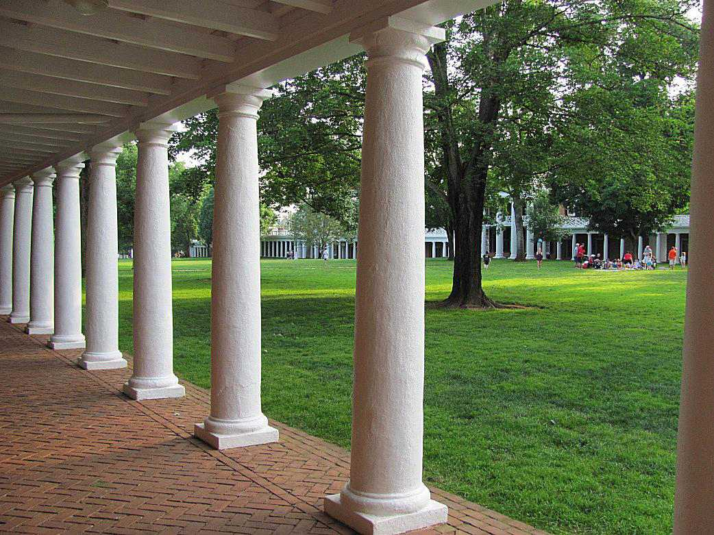 The Lawn at the University of Virginia