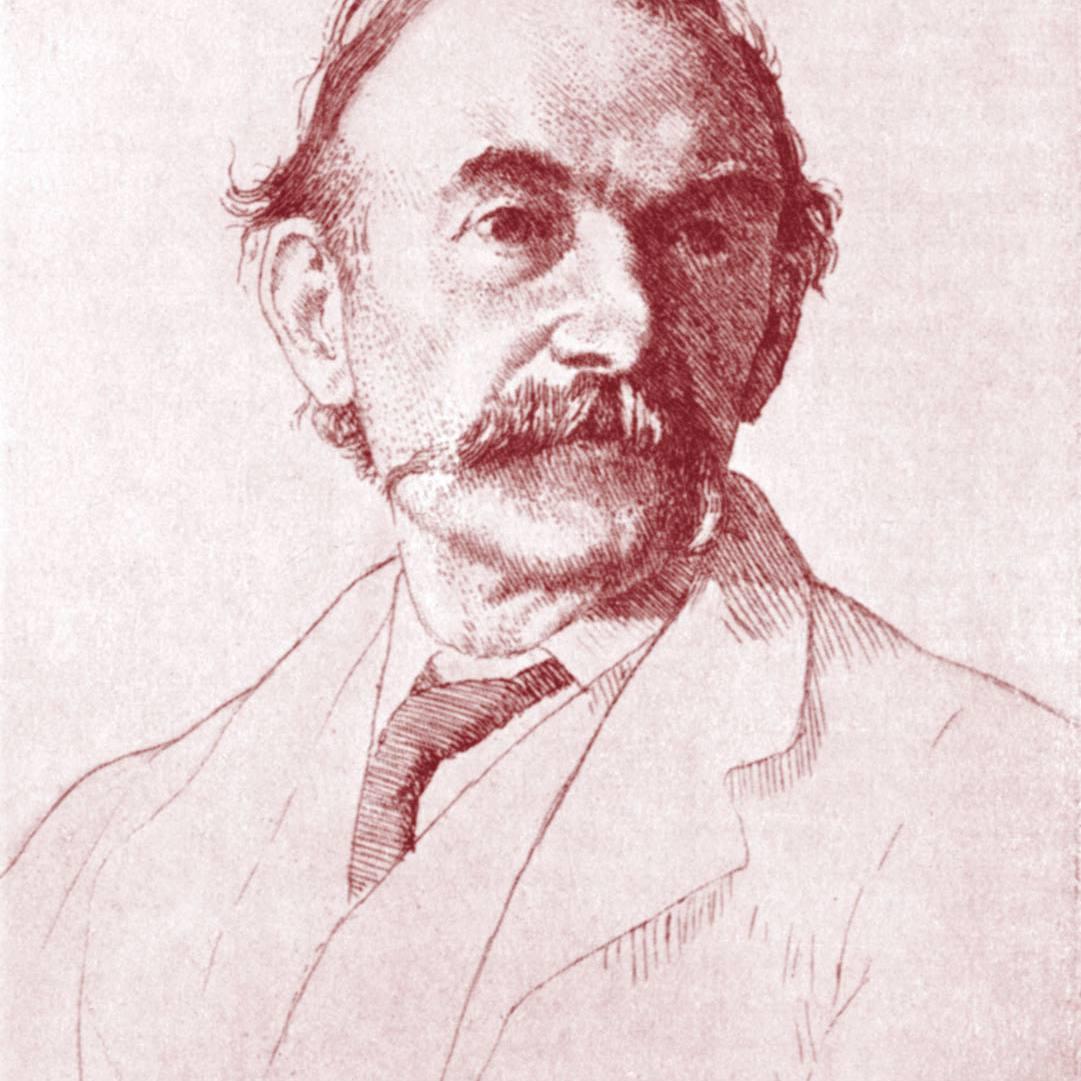 portrait of the Thomas Hardy