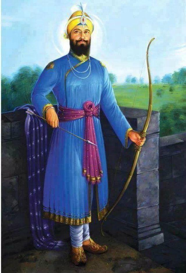 Guru Gobind Singh portrait