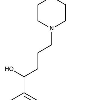 This is the chemical structure of fexofenadine.