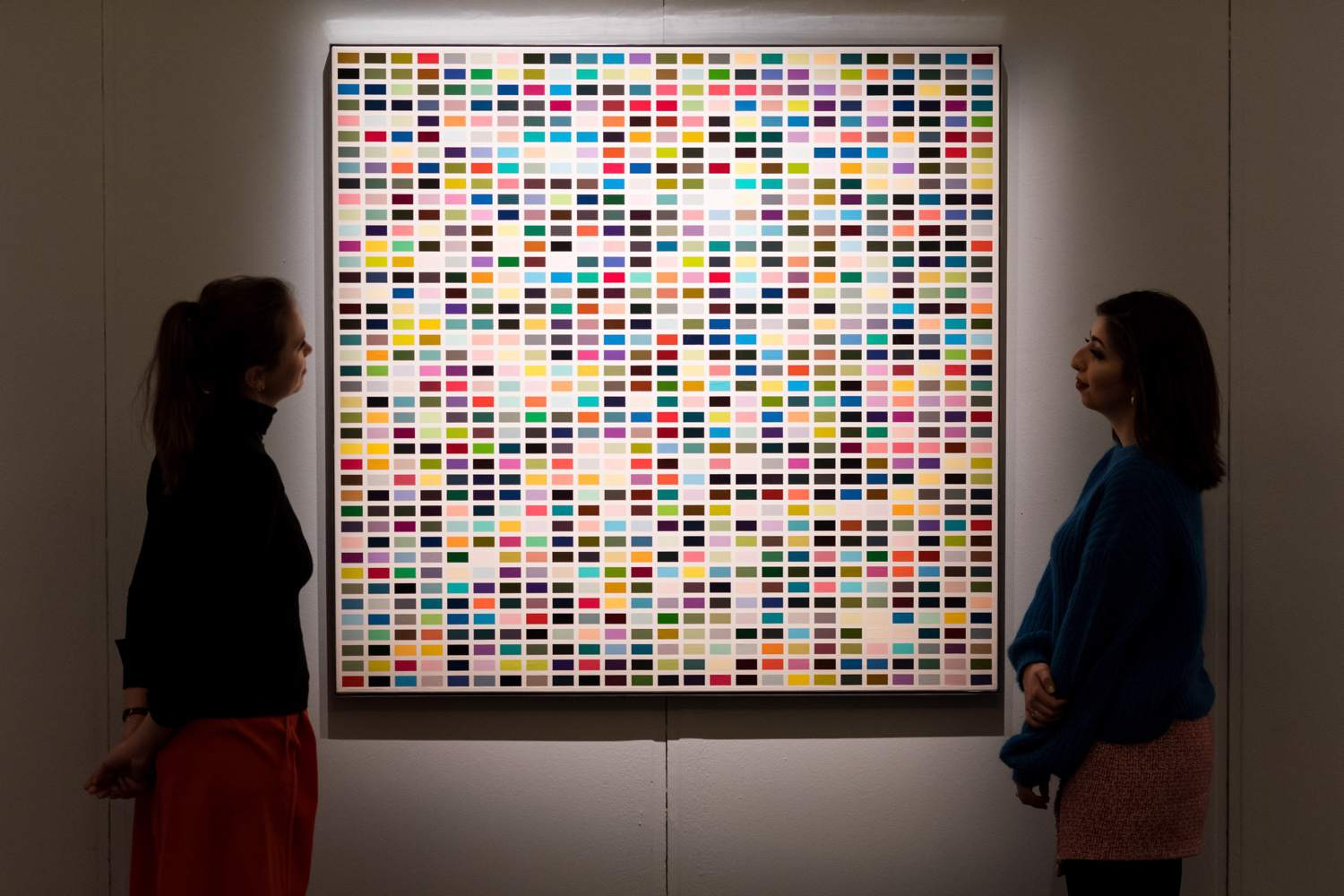 Gerhard Richter Color Chart Painting