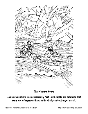 Free Lewis And Clark Worksheets Coloring Pages