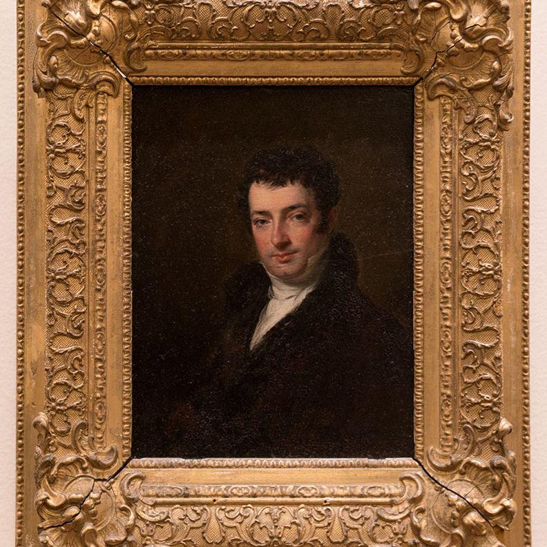 Washington Irving im Jahre 1820