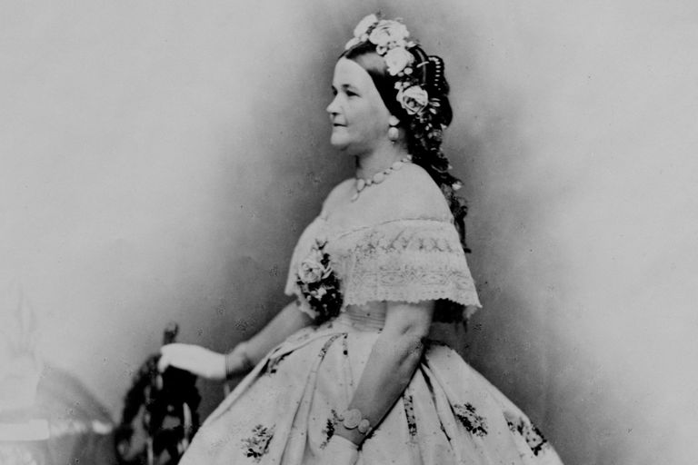 Portrait of Mary Todd Lincoln
