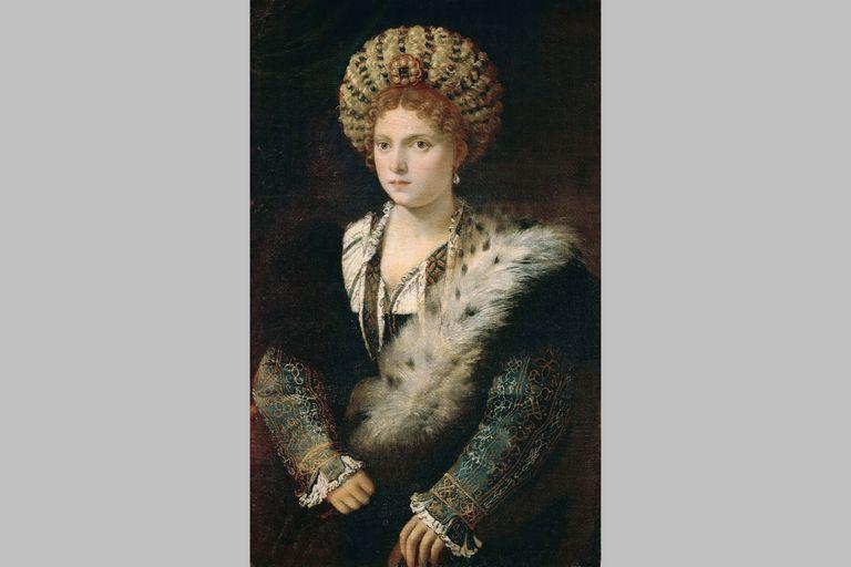 Isabella d'Este by Titian