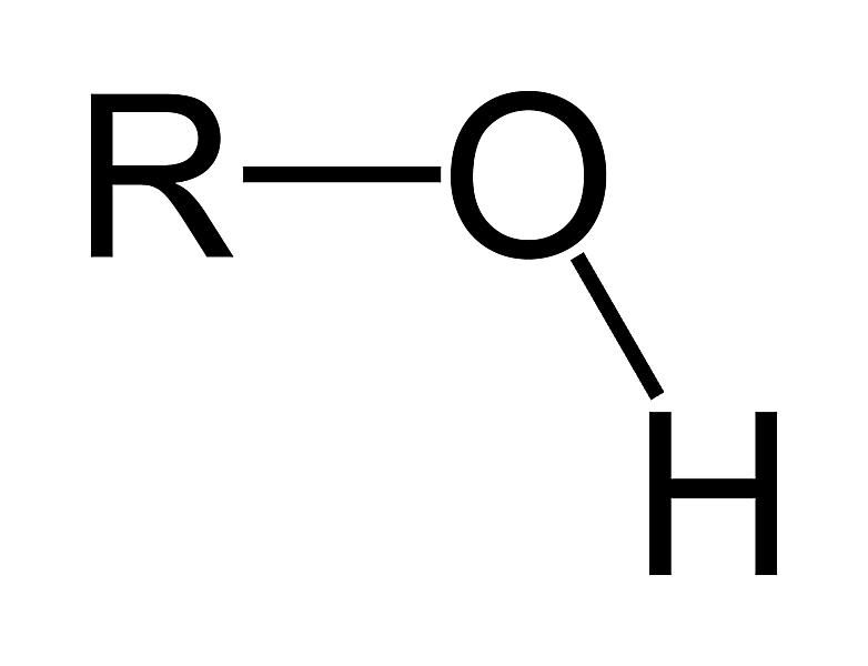 The hydroxyl functional group is an oxygen-containing group based on an alcohol or OH group.