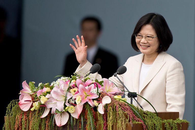 Taiwanese President-Elect Tsai Ing-wen Inauguration In Taipei