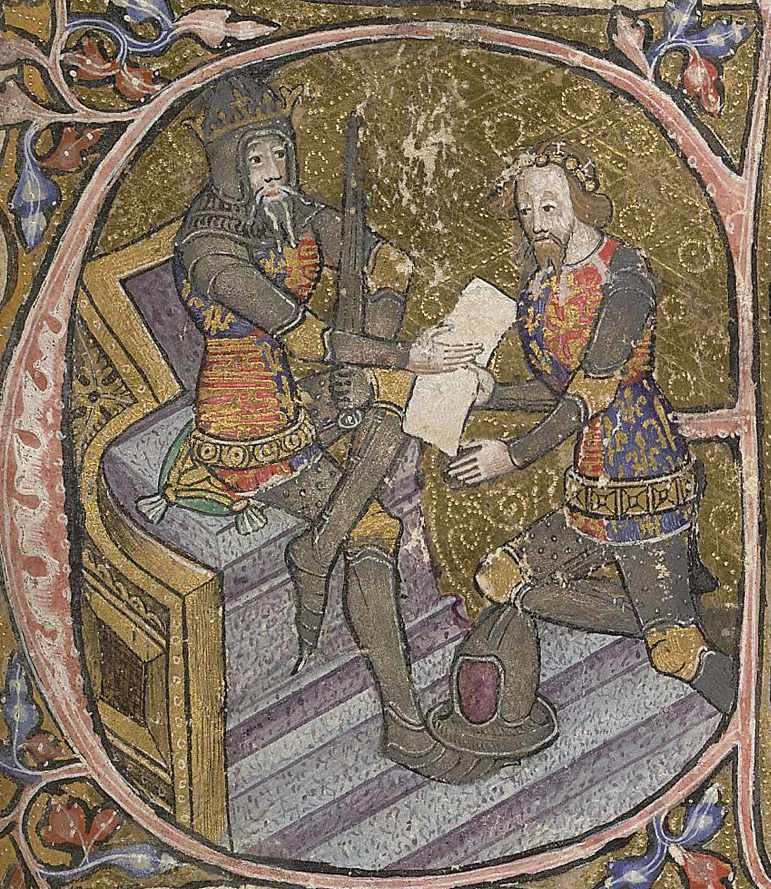 Edward III and the Black Prince