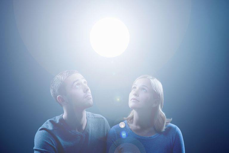 People Watching Orb Angel Spirit Light