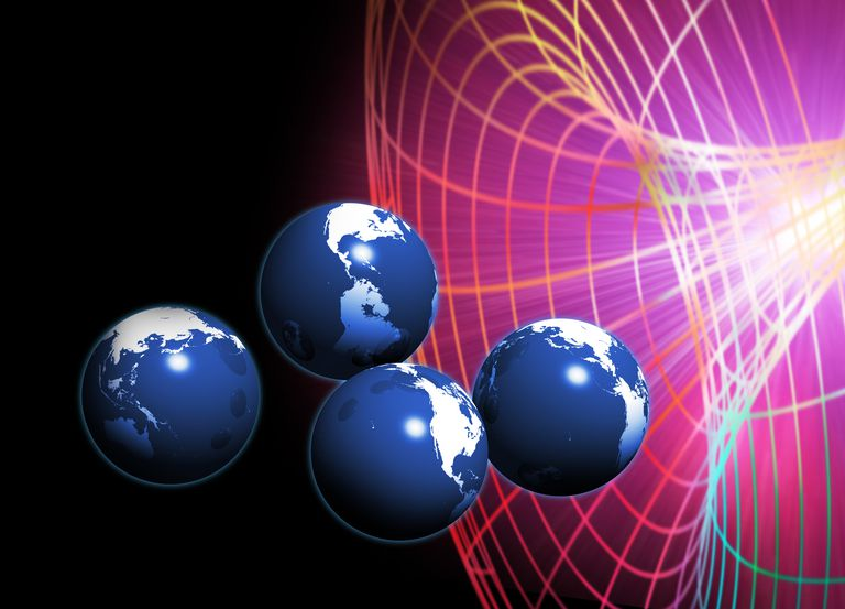 According to the Many Worlds Theory, when a random event has multiple outcomes, the universe splits to accommodate them all.