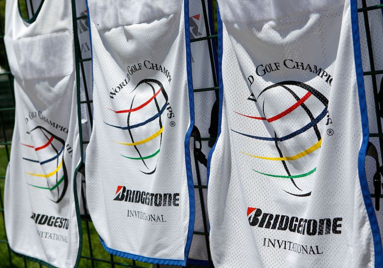 What is an invitational tournament in golf caddie bibs for the pga tours wgc bridgestone invitational tournament stopboris Choice Image
