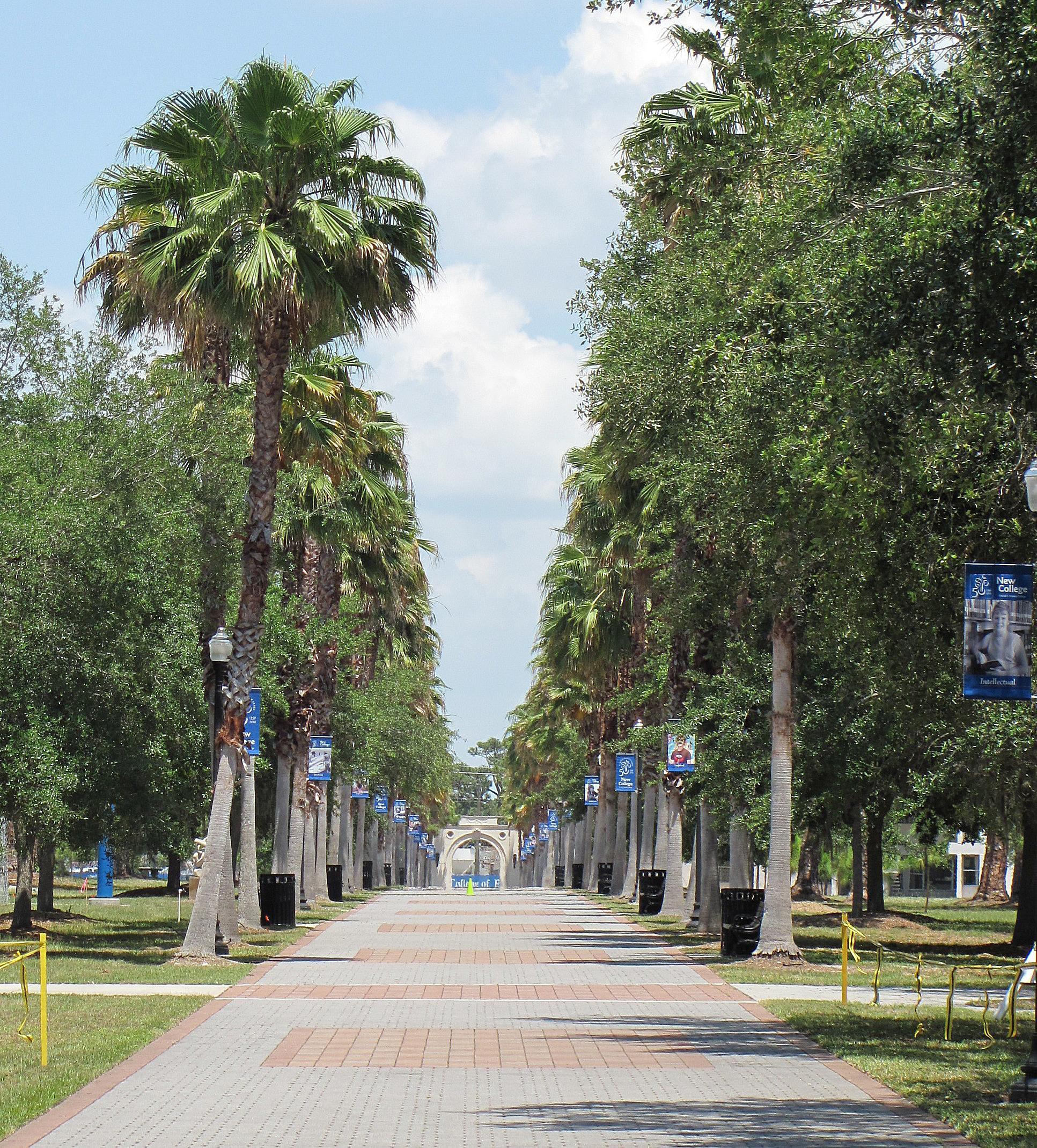 Dort Promenade at New College of Florida