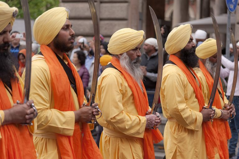 Sikhs Celebrate Vaisakhi In Rome