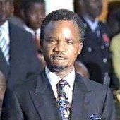 Πρόεδρος Frederick JT Chiluba of Zambia, & copy;  ΕΙΡΙΝ