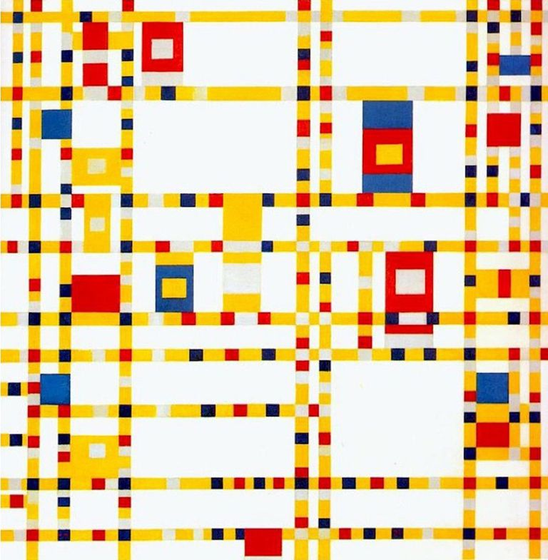 Life and Work of Piet Mondrian, Dutch Abstract Painter