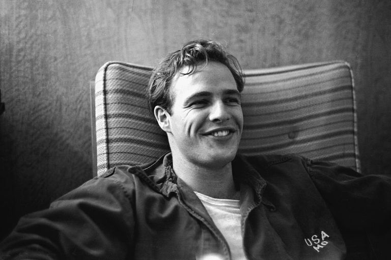 young Marlon Brando