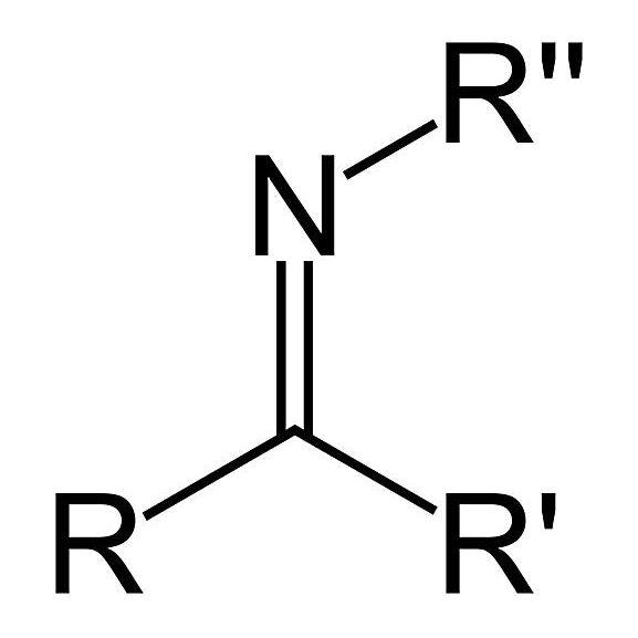 La fórmula del grupo funcional cetimina secundaria es RC (& # 61; NR) R & # 39 ;.