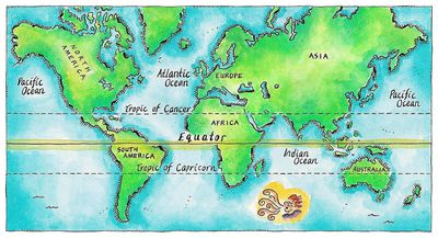 Tropic of Cancer - Overview and Geography