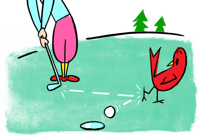 The Origins Of Birdie And Eagle As Golf Terms