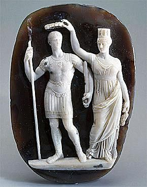 Cameo of the Crowning of Constantine