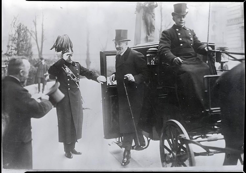 German Chancellor Bethmann-Hollweg