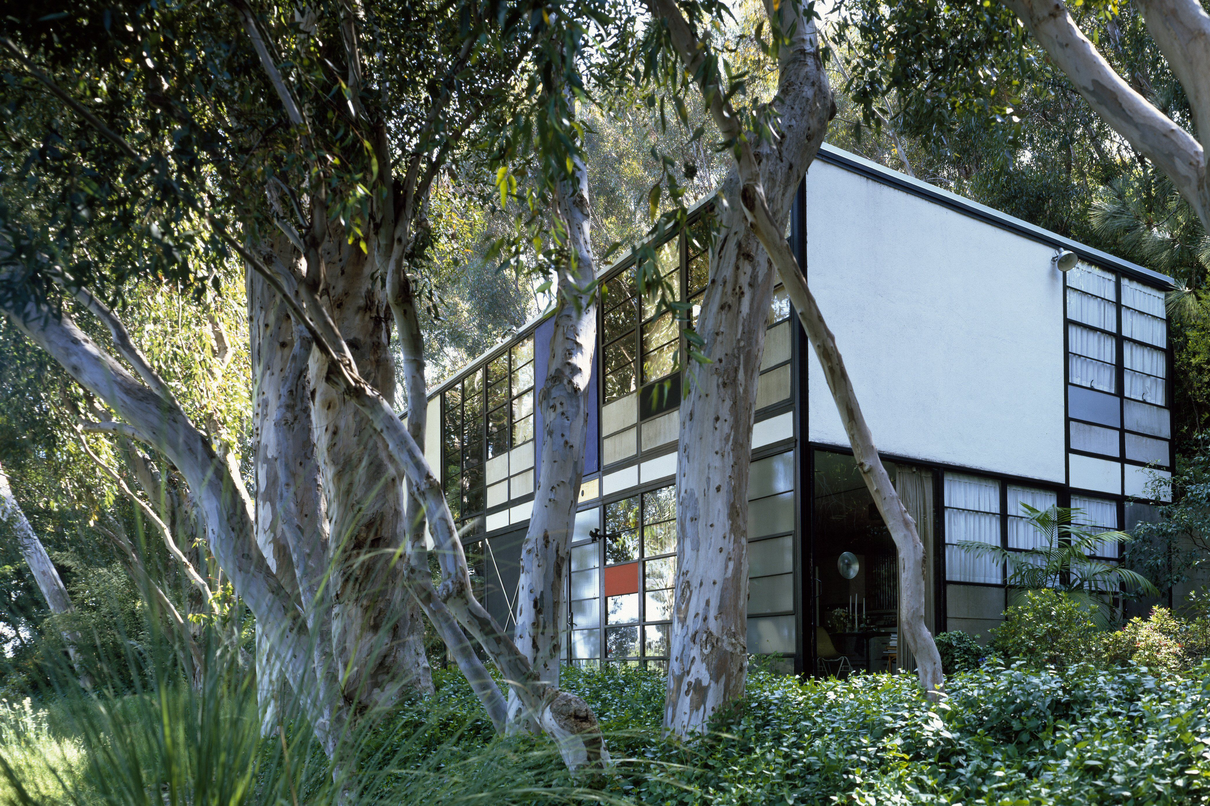 The Eames House, also known as Case Study #8, by Charles and Ray Eames