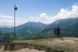 Mountain scene from Colombia.