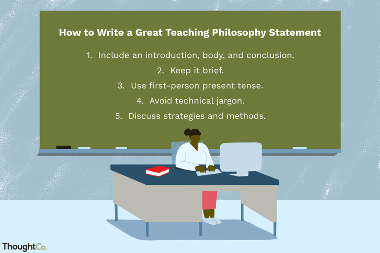 teaching philosophy statement examples