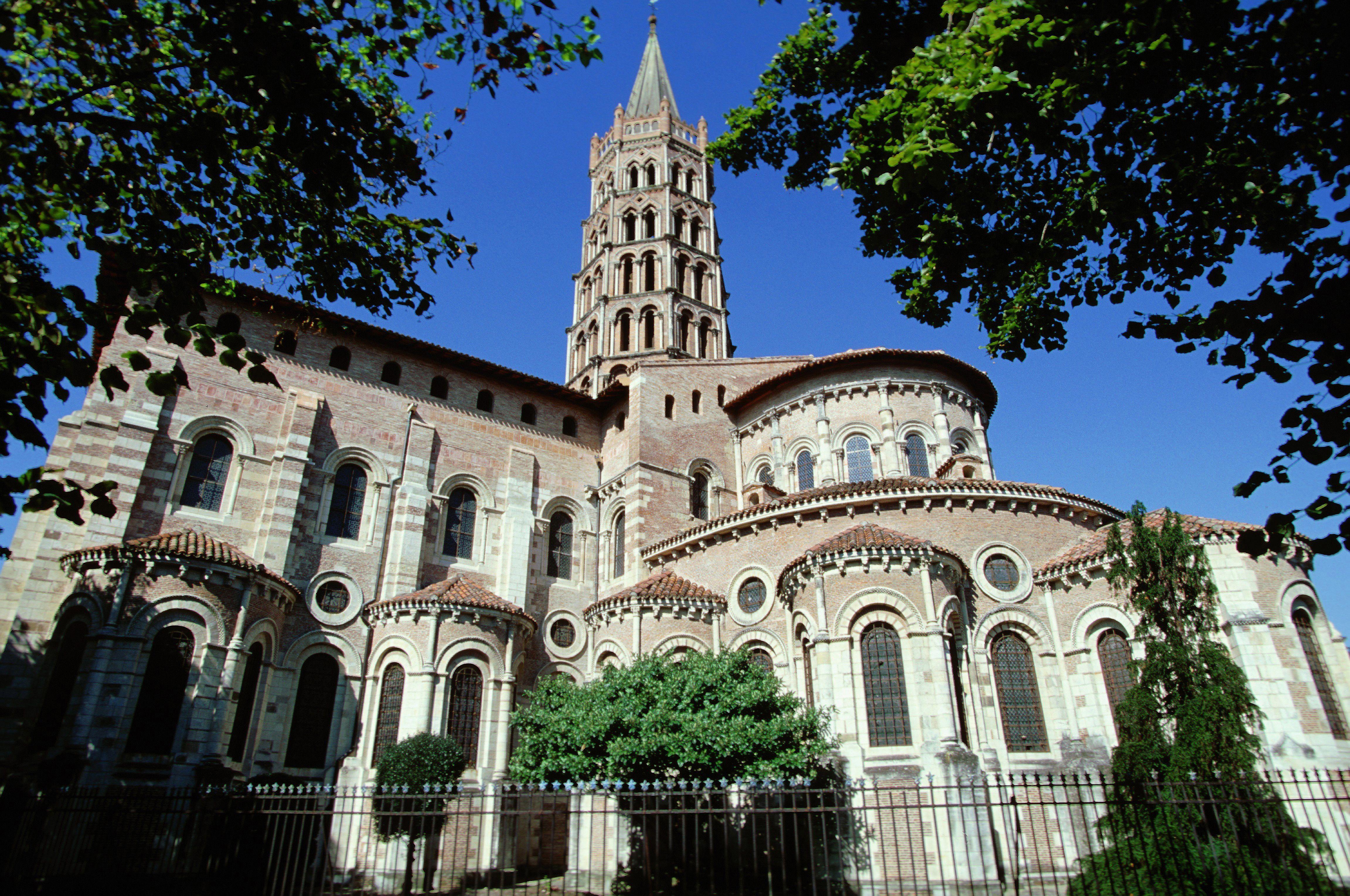 Basilica of St Sernin, Toulouse, France