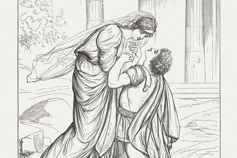 Jocasta and Oedipus