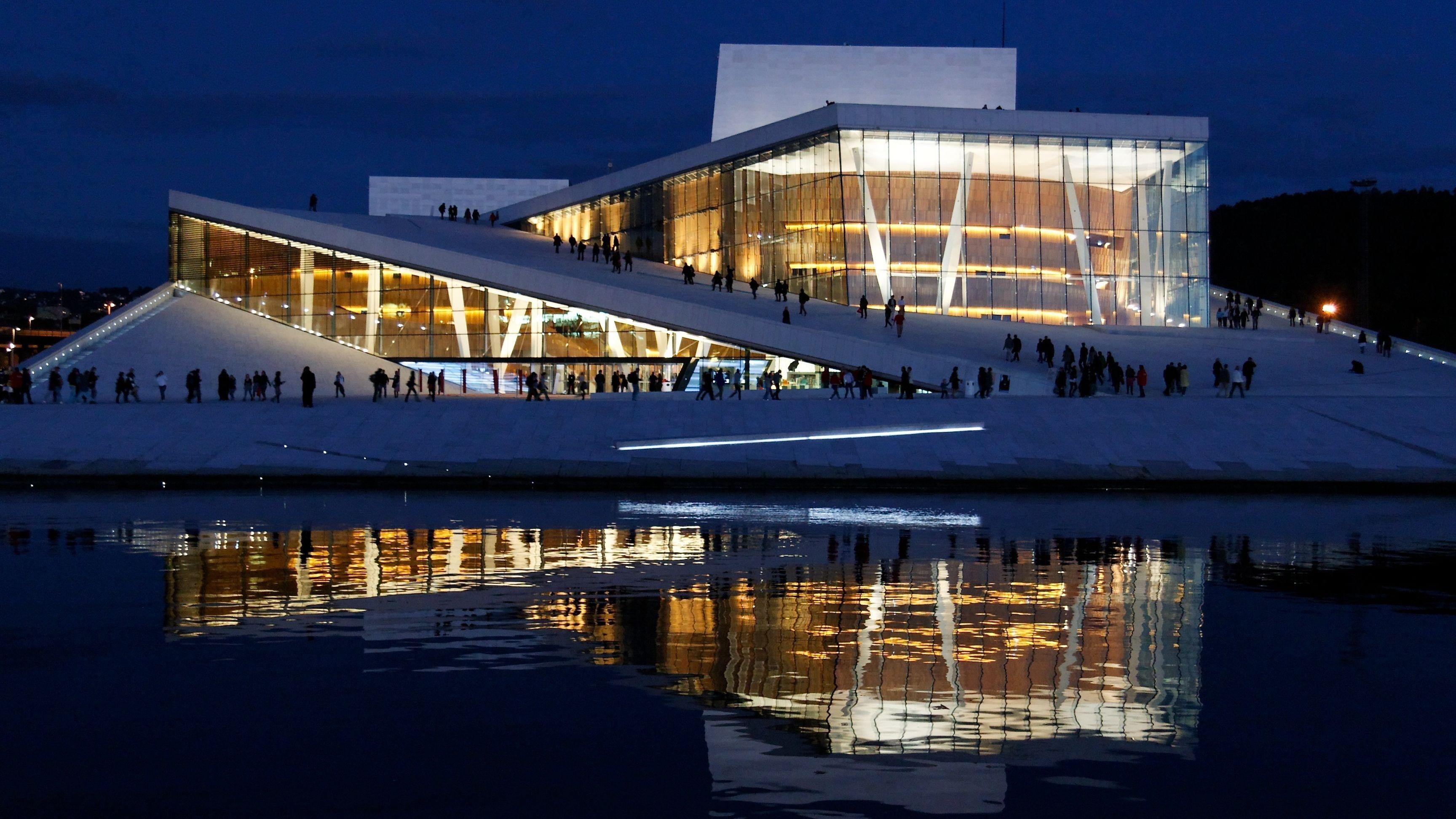 Snohetta's Design for the Oslo Opera House