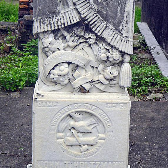 woodmen of the world cemetery symbol tombstone gravestones woodmen of the world cemeteries photo