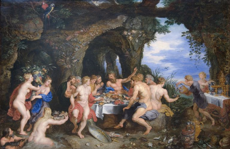 Rubens' 'Feast Of Achelous'