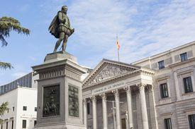 Cervantes sculpture
