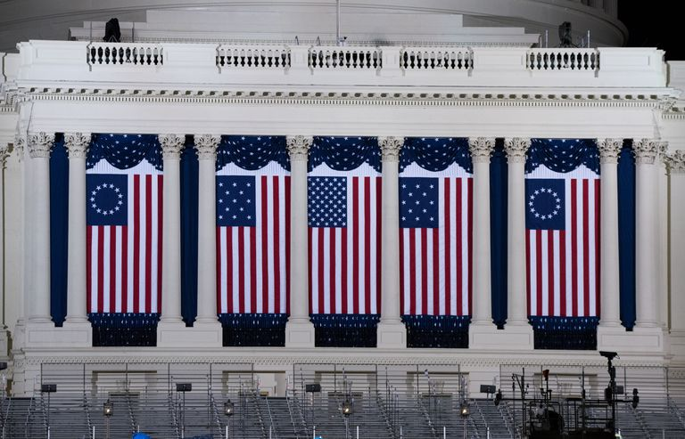 DC Prepares For Presidential Inauguration