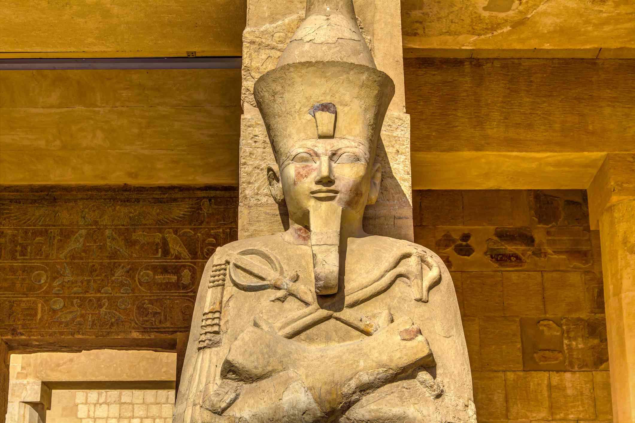 Statue of queen Hatshepsut, in Luxor, Egypt
