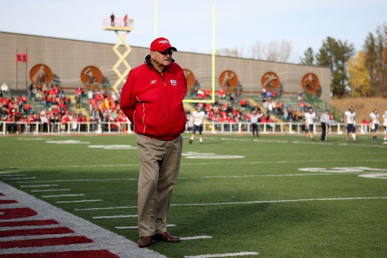 Saint John's head coach John Gagliardi