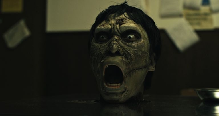 A zombie in the movie 'ABCs of Death 2'.