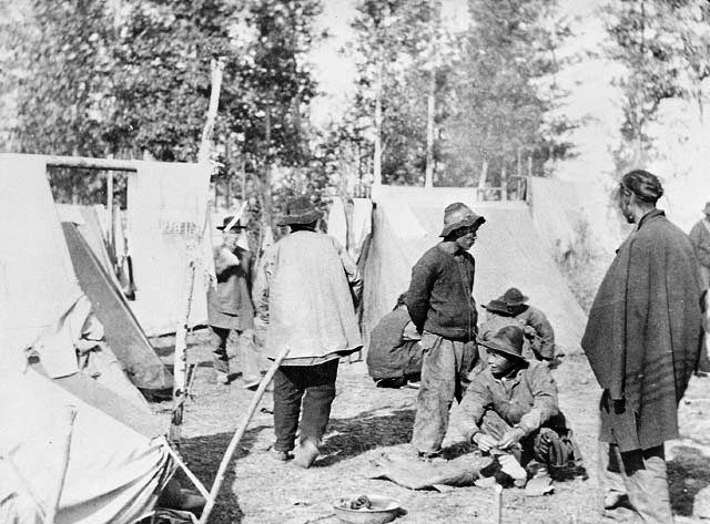 Chinese Camp in Kamloops 1868