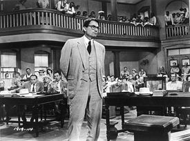 Gregory Peck in To Kill A Mockingbird