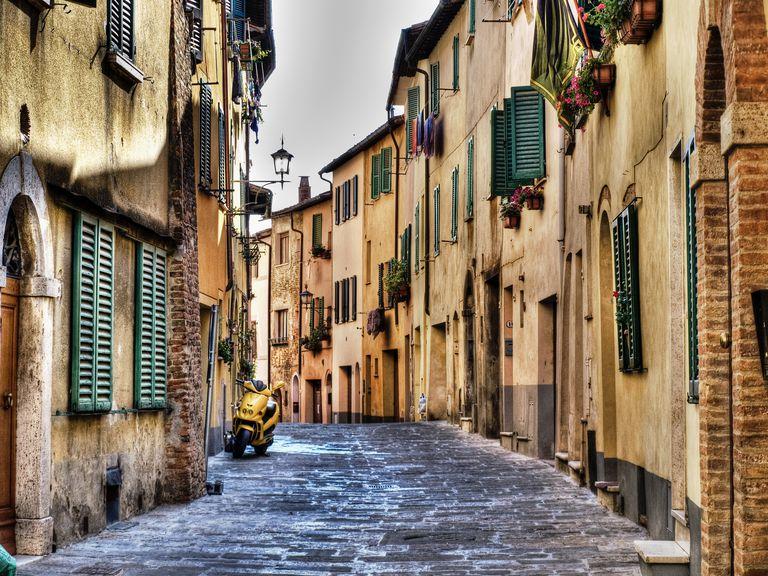 Italian street view