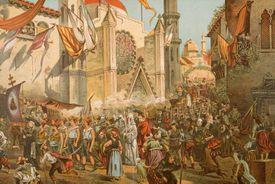Parade Honoring Magellan's Voyage