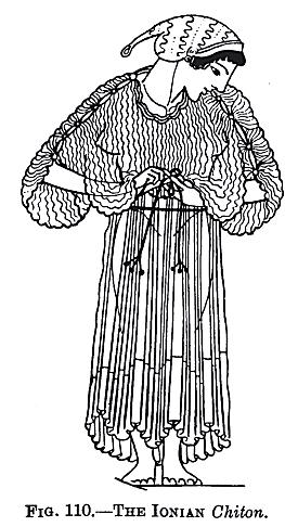 Ionian Chiton Illustration