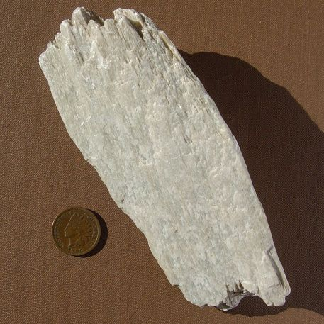 A soft, firm stone