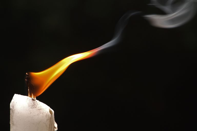When You Burn A Candle The Wax Is Oxidized