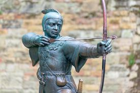 Robin Hood for lesson on Spanish verb quitar