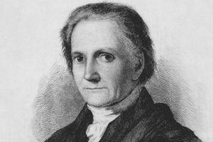 Engraved portrait of Bushrod Washington, George Washington's nephew