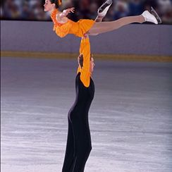 Image result for ice skating swan dive lift