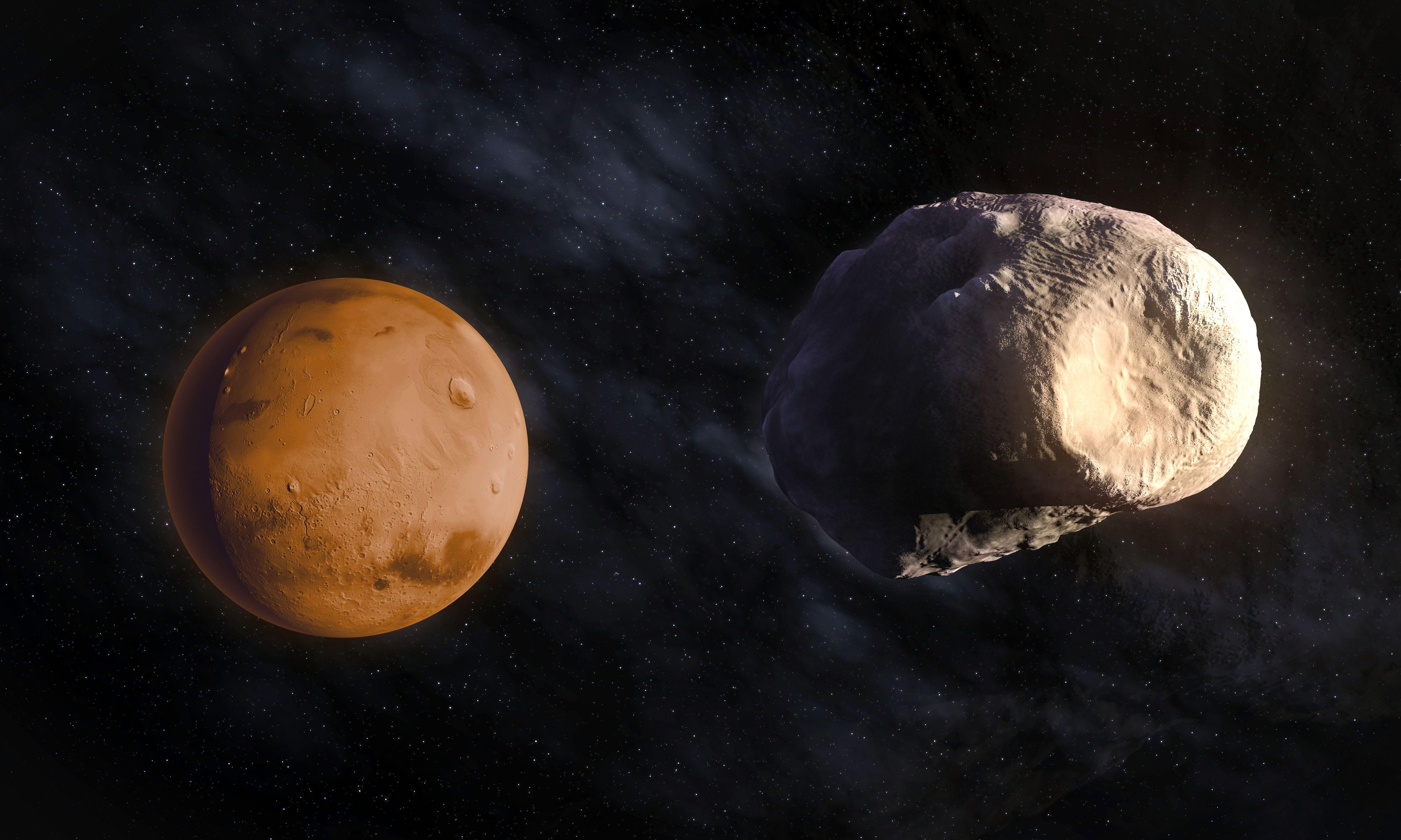 phobos mars moon gif - HD5407×3244